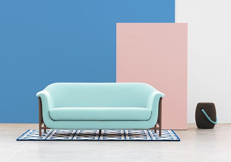 Valentim sofá Front
