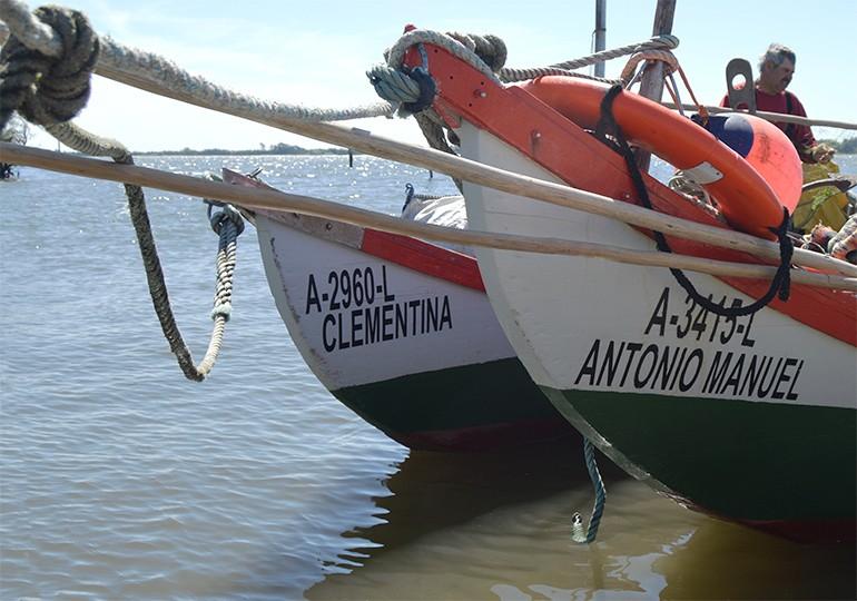Barcos do pescador António Manuel e Clementina