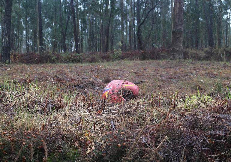 Capacete cor-de-rosa